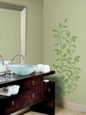 ideas for painting bathroom walls bathroom ideas for decorating with green wall paint and