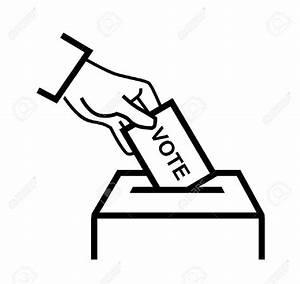 Vote Clipart Black And White - ClipartXtras