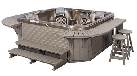 custom built bars spa accessories tub surrounds aspen spas of st louis