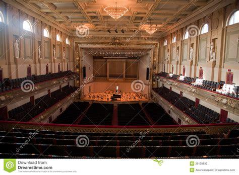 boston pops seating tables boston symphony hall stock photo image 26128830