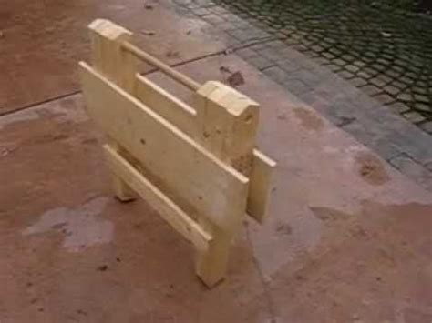 folding wooden work table part    youtube wood