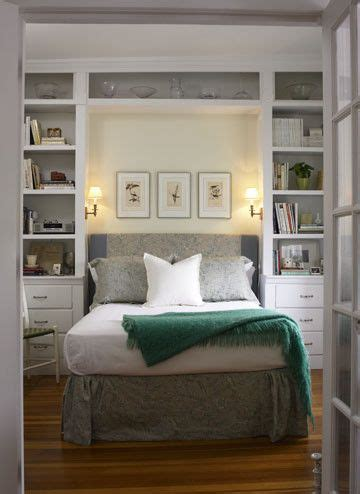 Bookcases Around Bed Home Design Ideas, Pictures, Remodel