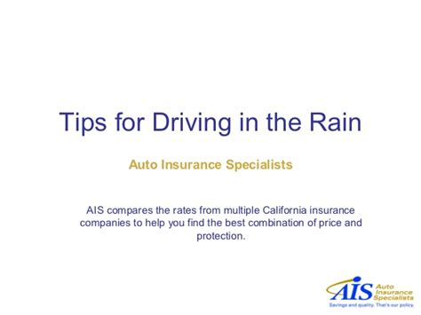Specialist Driver Car Insurance - tips for driving in the