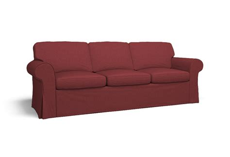 Sofa Covers 3 Seater by Ektorp Three Seat Sofa Cover Polo Cherry Cobbler By