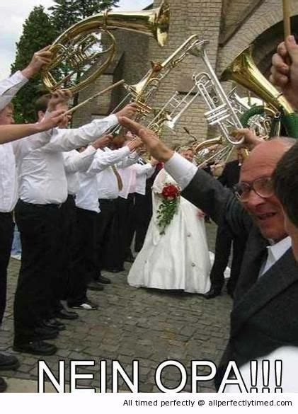 German wedding fail – Oh grandpa… – Just trying to help ...