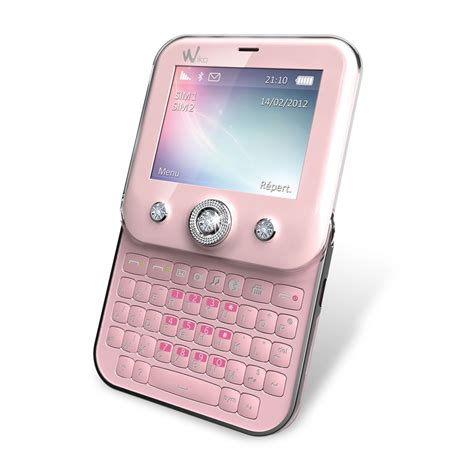 wiko duelle rose mobile smartphone wiko sur ldlc
