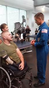 Astronaut Brings Items Flown On International Space ...