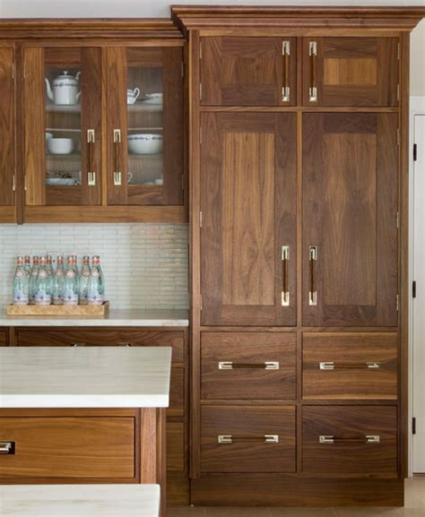 stained cabinets design ideas