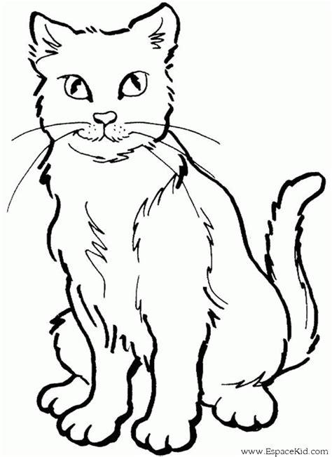 dessin de chat assis coloriage chat 224 imprimer dans les coloriages chat dessin 224 imprimer