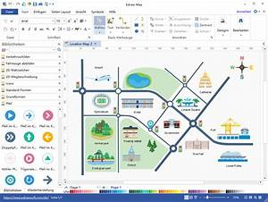 Technisches Zeichenprogramm Kostenlos : stra enkarte zeichenprogramm wegbeschreibung sehr einfach erstellen ~ Orissabook.com Haus und Dekorationen