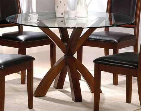 round wood dining room table simple round glass top dining tables with wood base and