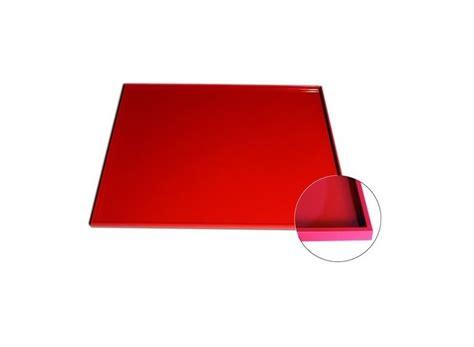 tapis cuisson silicone rouge avec bord 233 pais 55x35cm