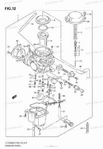 Suzuki Atv 2008 Oem Parts Diagram For Carburetor