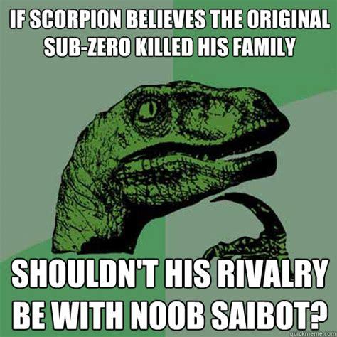 Scorpion Meme - philosoraptor memes quickmeme