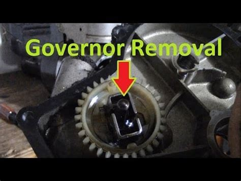 remove  governor    kart engine bronda