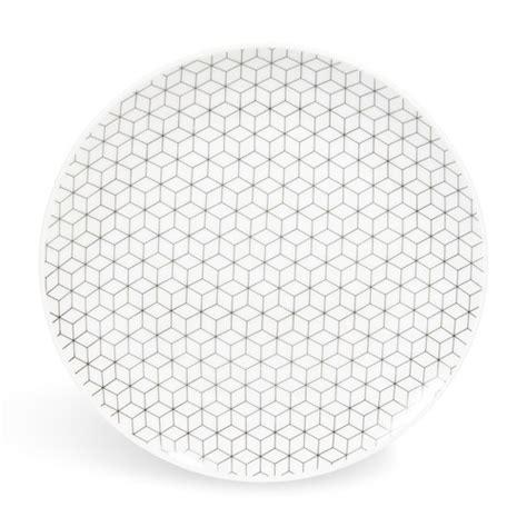 maison du monde assiette assiette 224 dessert en porcelaine d 19 cm graphique maisons du monde