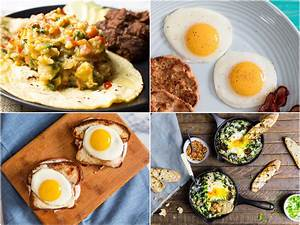 24 Egg Breakfast Recipes To Start Your Day