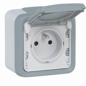 prise 2 poles terre plexo legrand interrupteur prise With prise electrique exterieur encastrable