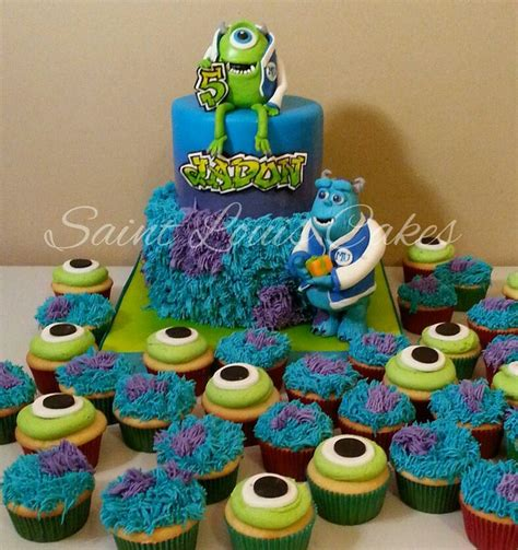 monsters university birthday cake sully  mike