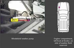No Flow From The Windshield Washer Pump