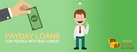 Payday Loan For People With Bad Credit