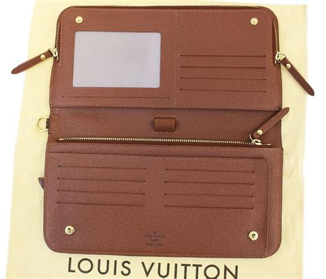 authentic louis vuitton monogram canvas insolite organizer wallet