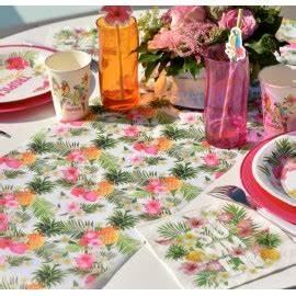 Chemin De Table Tropical : d guisements d coration f tes d co mariage table festive articles de f te ~ Melissatoandfro.com Idées de Décoration