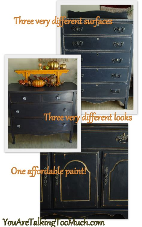 diy how to get a chalk painted look using valspar paint