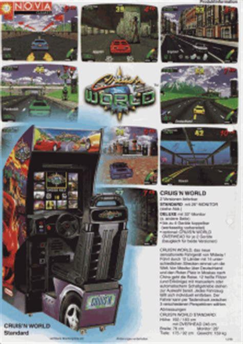 arcade flyer archive video game flyers cruisn