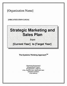 strategic marketing sales plan template With sales and marketing plans templates