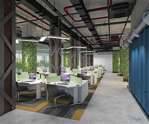 Industrial, Office, Interior, Design, On, Behance