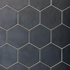 Hexagon Studio Black 175 Cm X 20 Cm Industrial Tiles