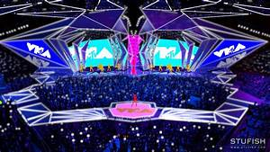Stufish Renderings For Sunday U0026 39 S Vmas Set Design