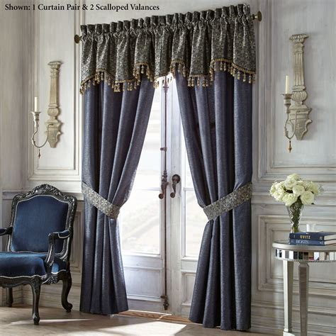 window drapes vaughn window treatment by waterford linens