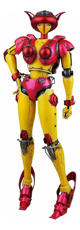 Mazinger Aphrodite Robot Anime Figure Action Boobs