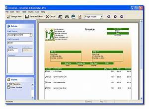 Invoices and estimates pro software paradise invoice for My deluxe invoices and estimates free download