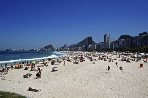 copacabana beach  visited summer destination