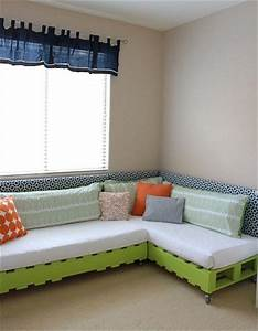 how to decorate your pallet couch pallets designs With pallet sofa bed