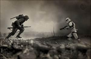 artist injects star wars into world war ii photos geektyrant With thirteenth floor art