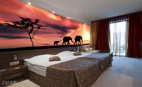 willkommen  afrika fototapete fuer schlafzimmer