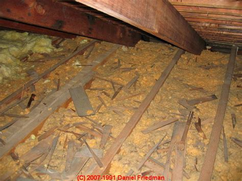 asbestos filling insulation  concrete block