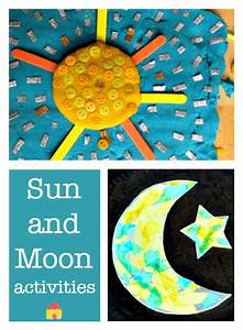 Solar Eclipse Sun And Moon Activities