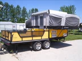 Used Deck Over Trailer For Sale by Starling Travel 187 The 2006 Fleetwood Scorpion Toy Hauler