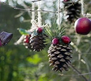 Weihnachtsschmuck Selber Machen : weihnachtsdeko selber basteln weihnachtsschmuck zapfen weihnachten pinterest diy decoration ~ Frokenaadalensverden.com Haus und Dekorationen