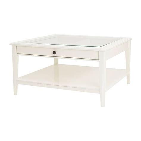bout de canapé blanc laqué liatorp bord hvit glass ikea