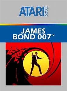 Buy Atari 5200 James Bond 007