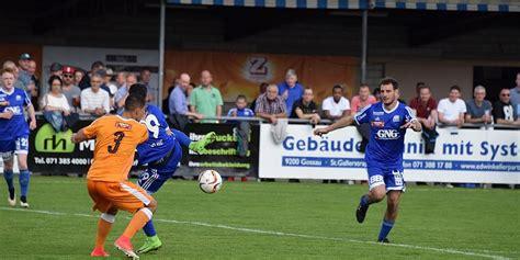 FC GOSSAU BESTREITET ERSTES AUFSTIEGSSPIEL IN MÜNSINGEN ...