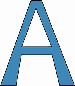the gallery for gt letter a blue With blue alphabet letters