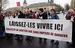 Protests Against French Immigrant Laws Editorial Photo ...