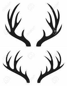 Deer antler clipart - Clipground